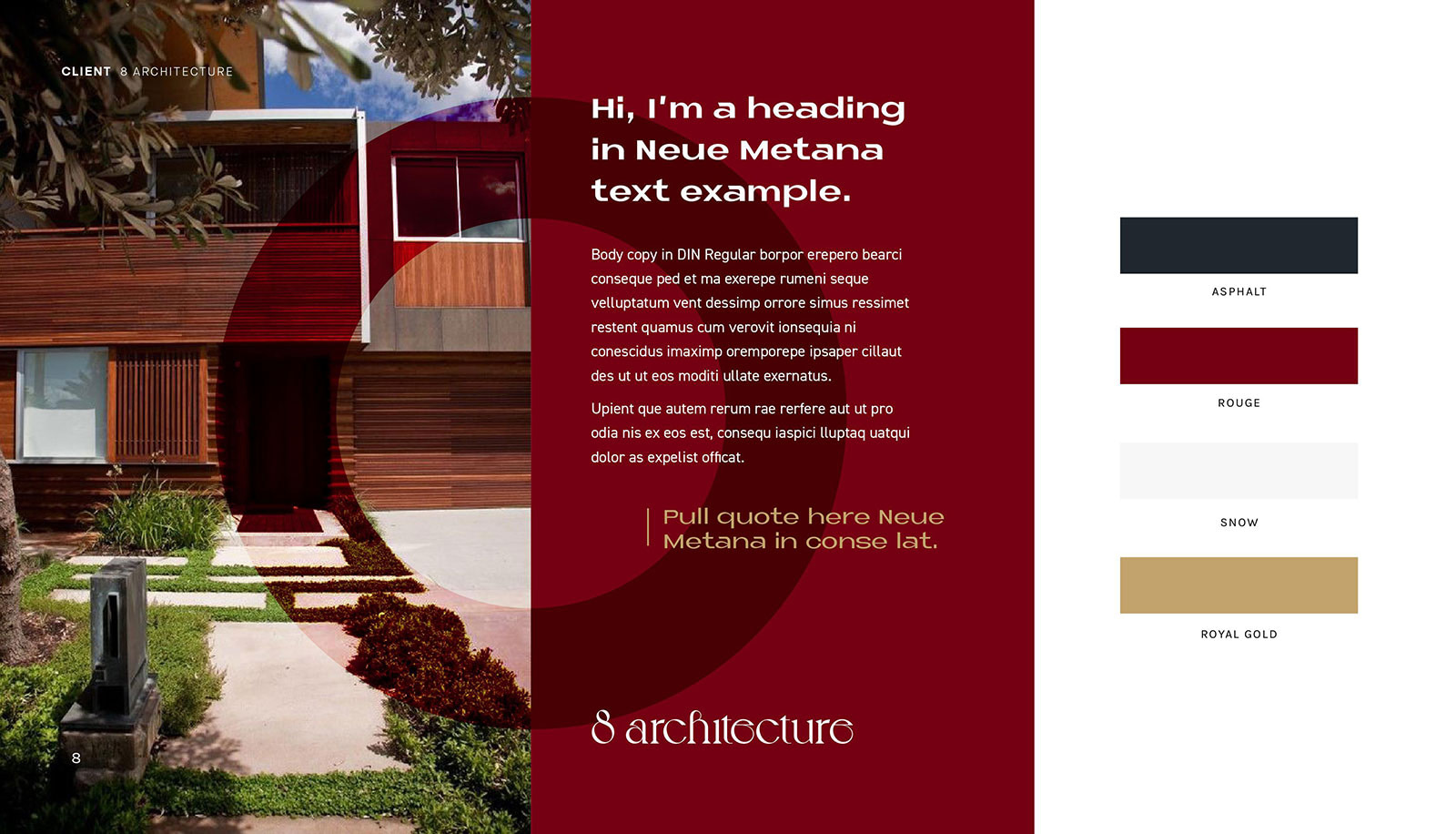8 Architect Branding